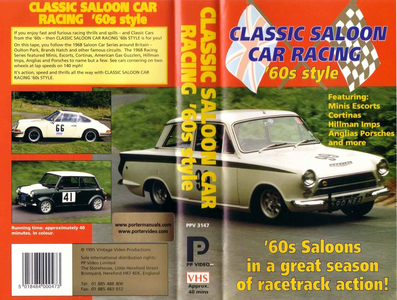 Saloon Car Racing Classic Saloon Car Racing