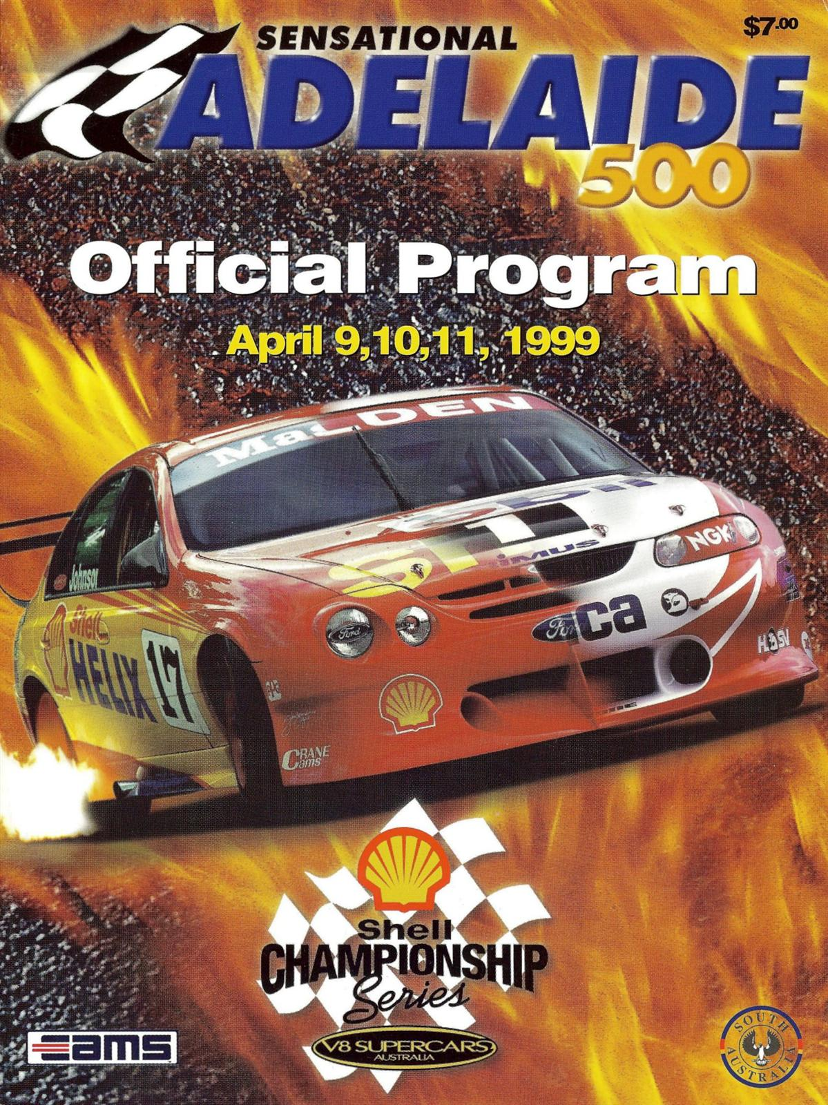 Adelaide Parklands Street Circuit | The Motor Racing Programme ...