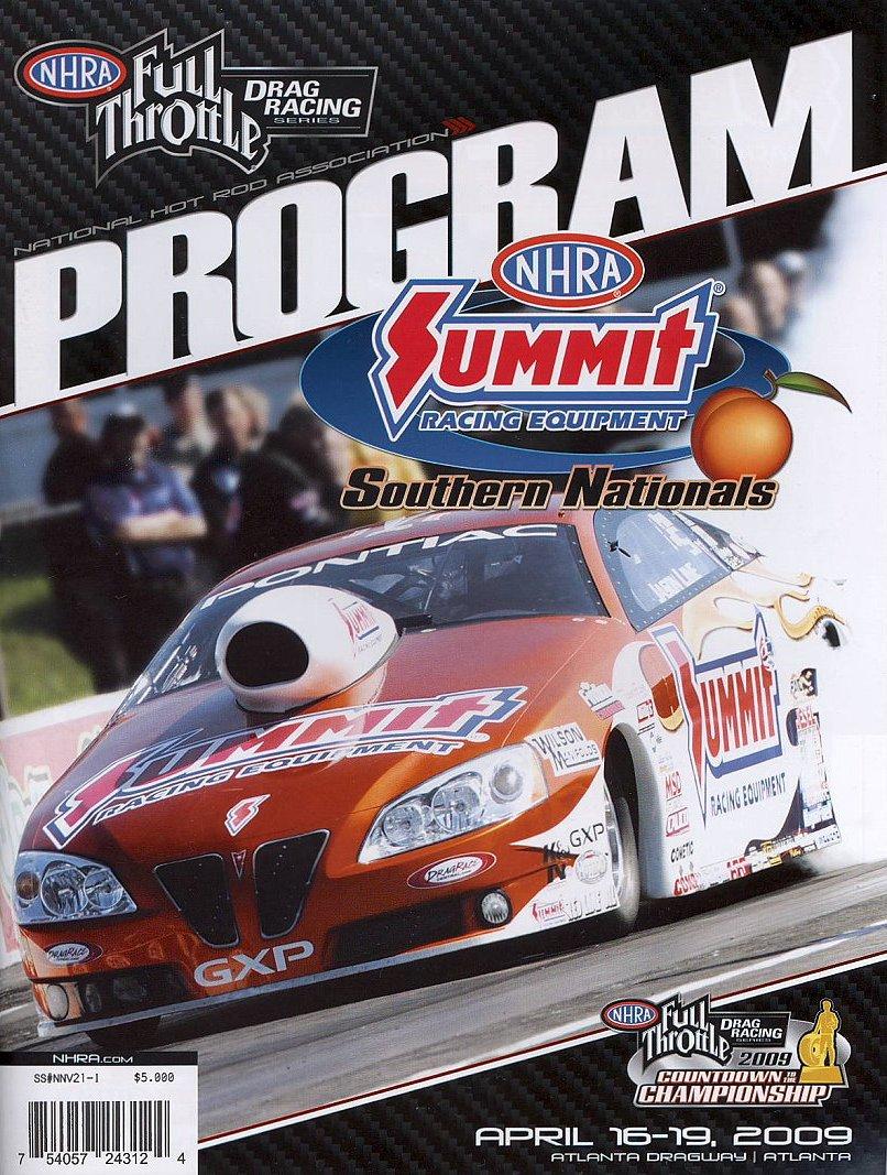 Atlanta Dragway The Motor Racing Programme Covers Project