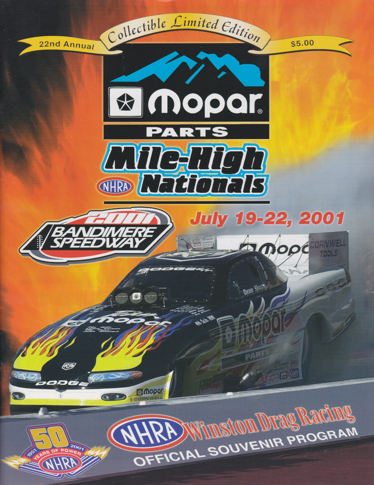 Bandimere Speedway   The Motor Racing Programme Covers Project