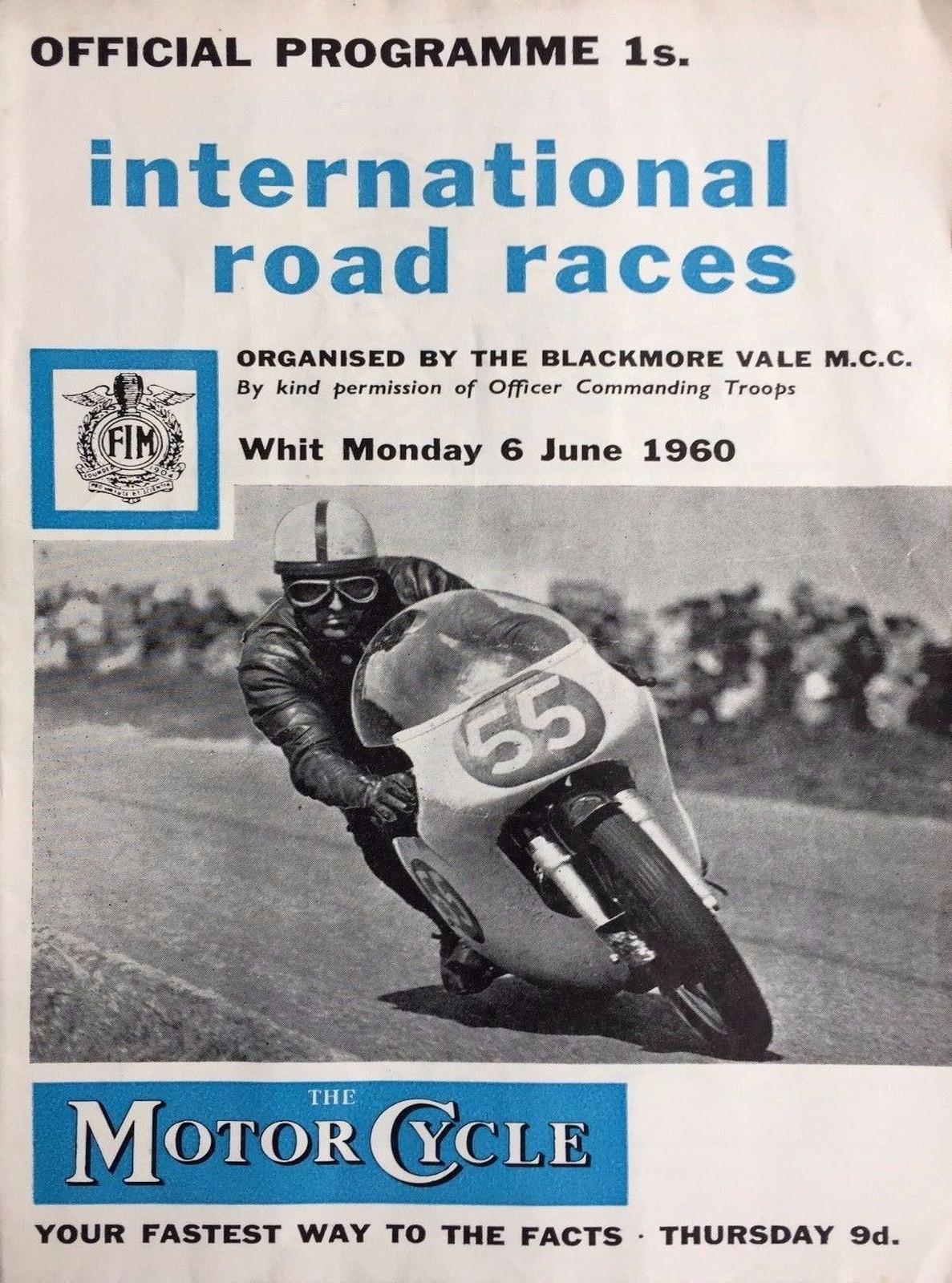 Blandford Circuit The Motor Racing Programme Covers Project