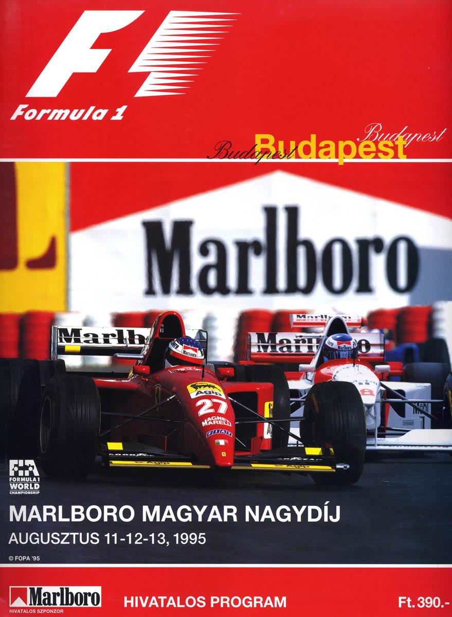 American Racing 2 >> 1995 Formula 1 World Championship Programmes | The Motor ...