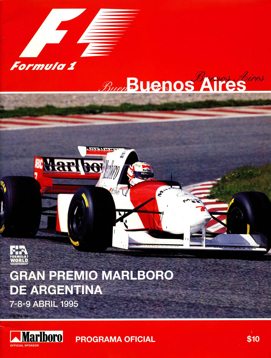 buenos aires the motor racing programme covers project. Black Bedroom Furniture Sets. Home Design Ideas