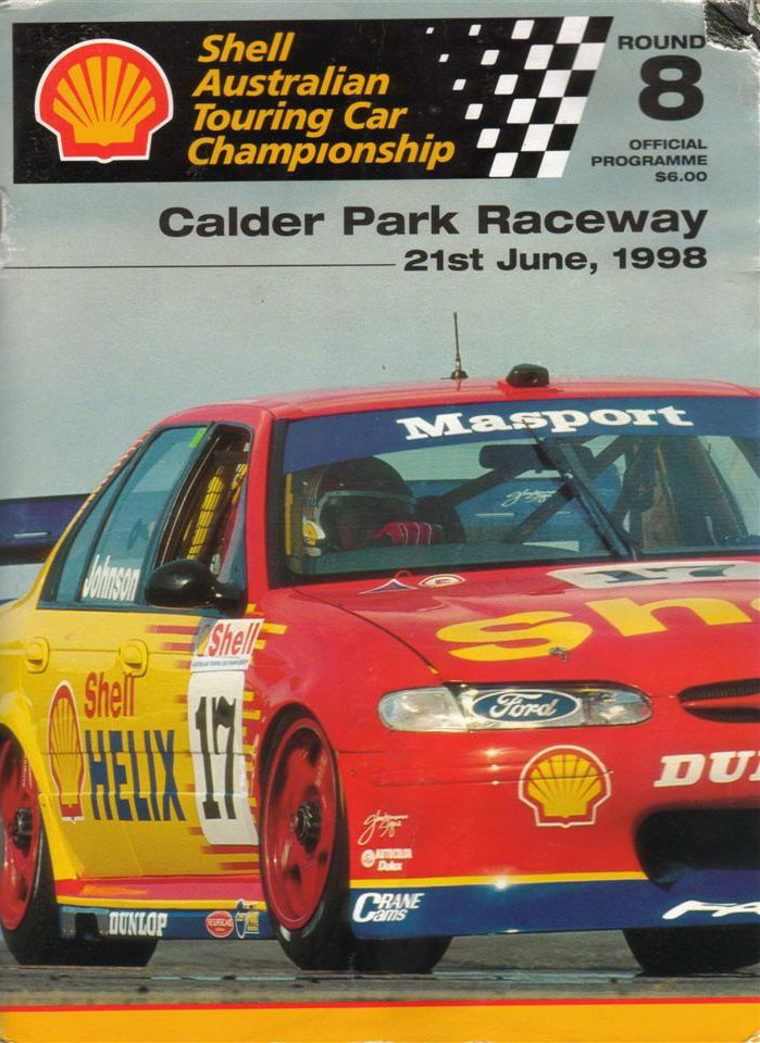1998 australian touring car championship programmes the