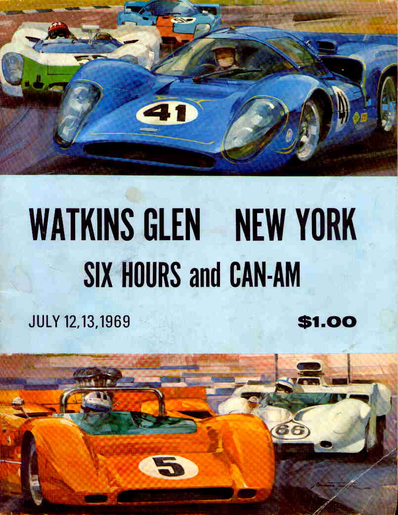 Watkins Glen Speedway >> 1969 Canadian-American Challenge Cup (Can-Am) Programmes | The Motor Racing Programme Covers Project