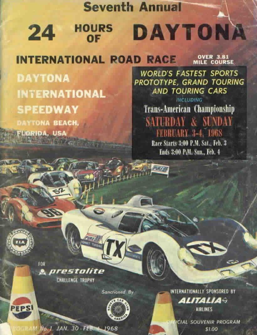 Japanese Car Brands >> 1968 World Sportscar Championship Programmes | The Motor ...