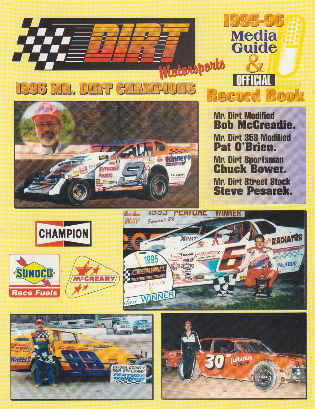 DIRT Motorsports Media Guides/Yearbooks | The Motor Racing ...