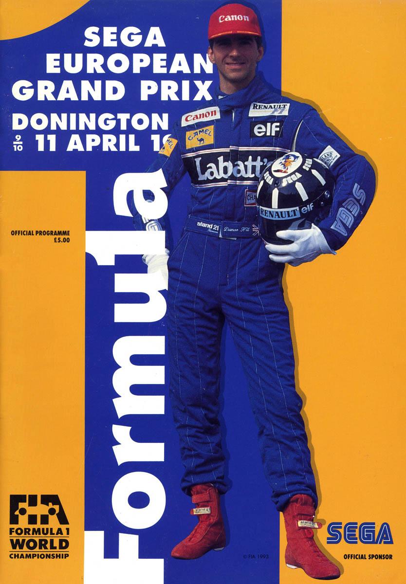 1993 European Grand Prix - Wikipedia
