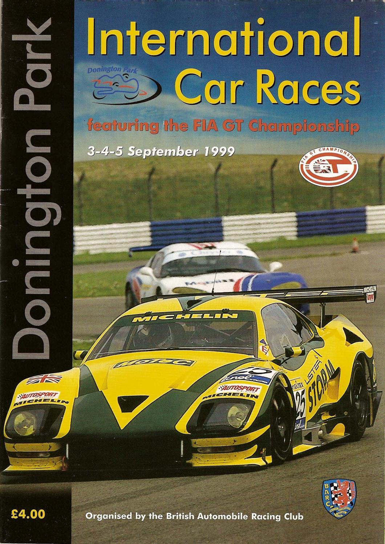 American Racing 2 >> 1999 FIA GT Championship Programmes | The Motor Racing ...