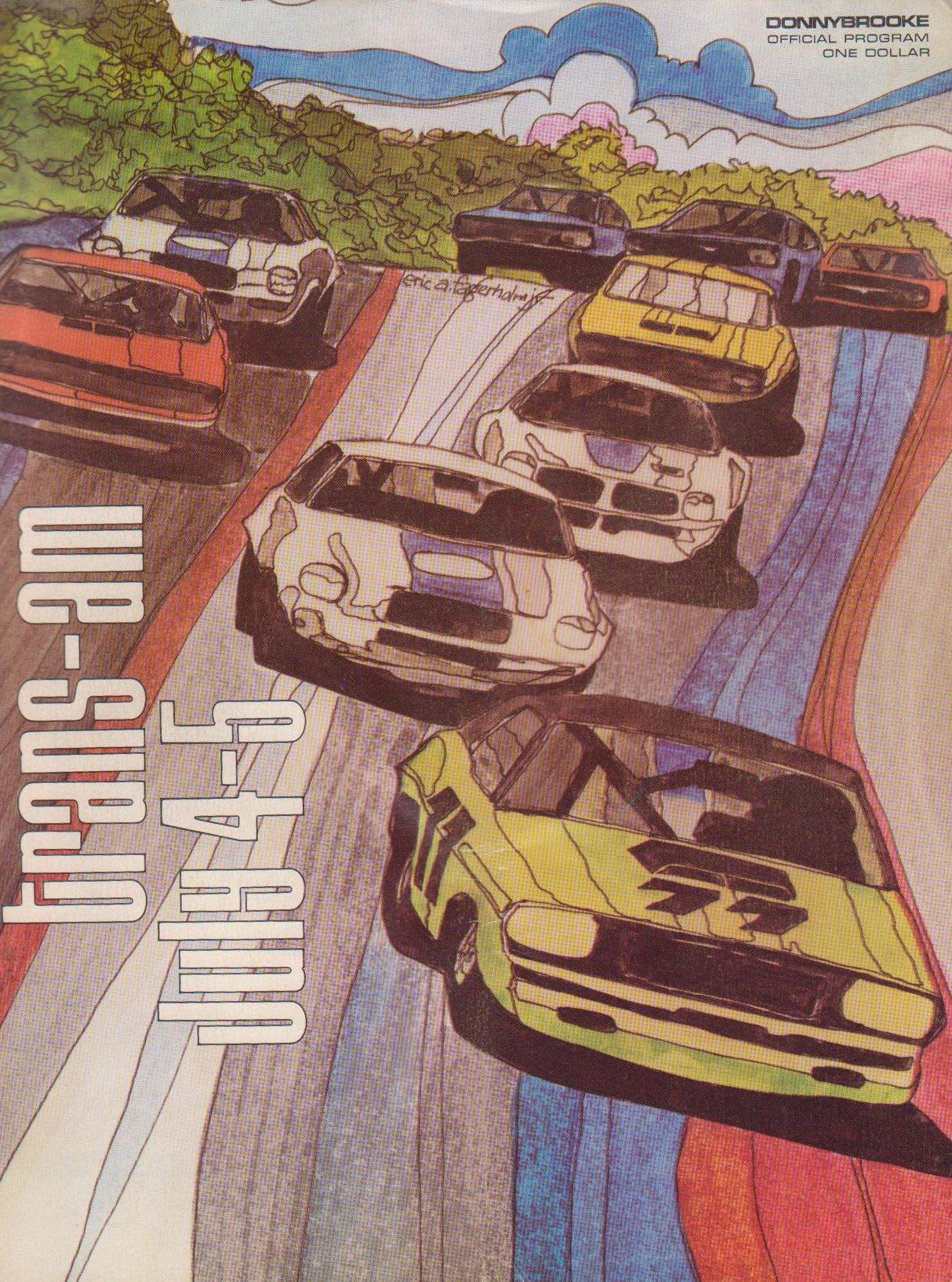 Laguna Seca Raceway >> 1970 Trans-Am Series Programmes | The Motor Racing ...