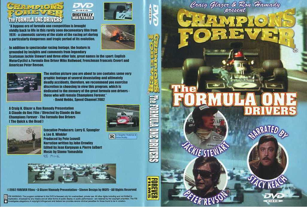 Various Dvd Vcrs The Motor Racing Programme Covers Project