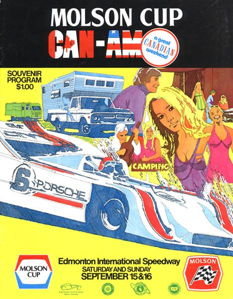 Mid Ohio Sportscar Course >> 1973 Canadian-American Challenge Cup (Can-Am) Programmes ...