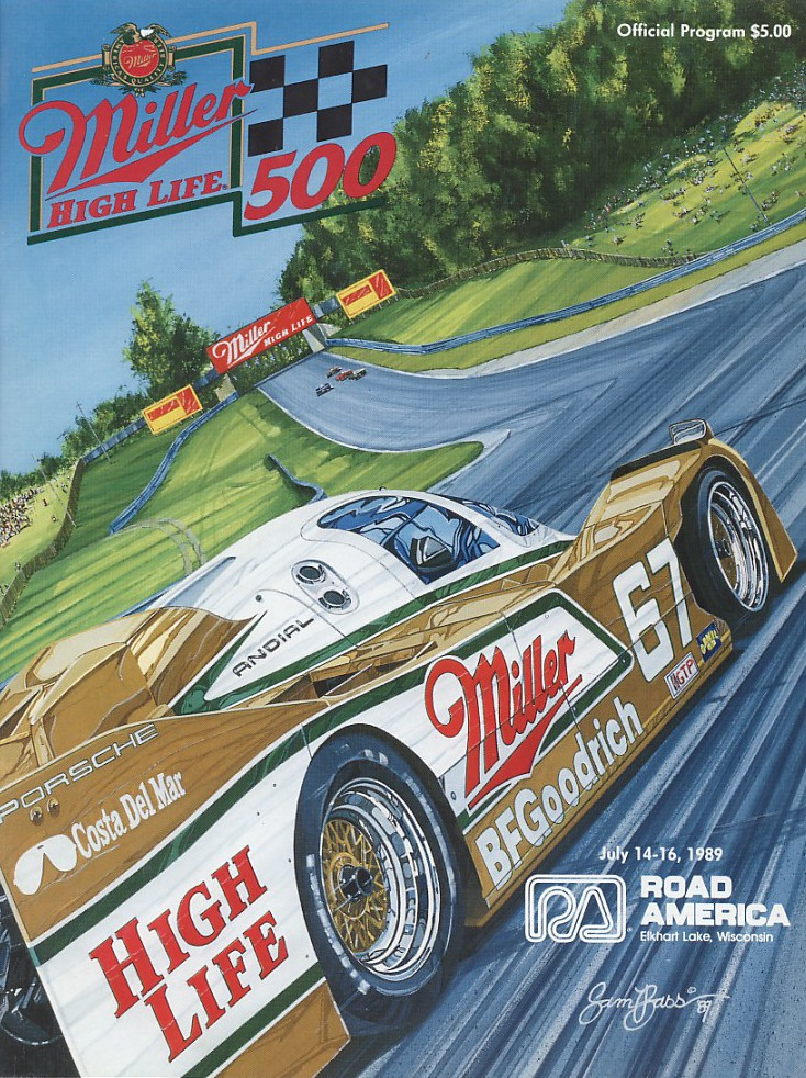 Mid Ohio Sportscar Course >> 1989 IMSA GT Championship Programmes | The Motor Racing Programme Covers Project