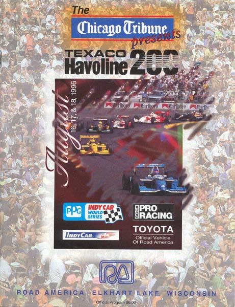 Mid Ohio Raceway >> 1996 CART Series Programmes | The Motor Racing Programme ...