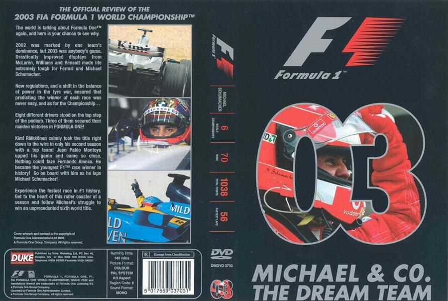 New Trans Am >> Formula 1 Review DVD/VCRs | The Motor Racing Programme Covers Project
