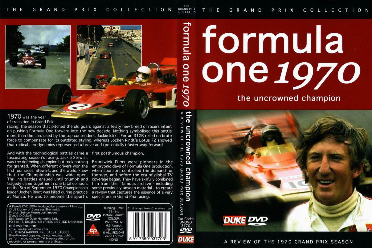 Formula 1 Review Dvd Vcrs The Motor Racing Programme