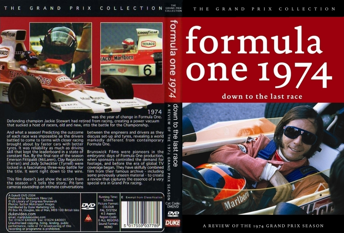 formula 1 review dvd vcrs the motor racing programme covers project. Black Bedroom Furniture Sets. Home Design Ideas