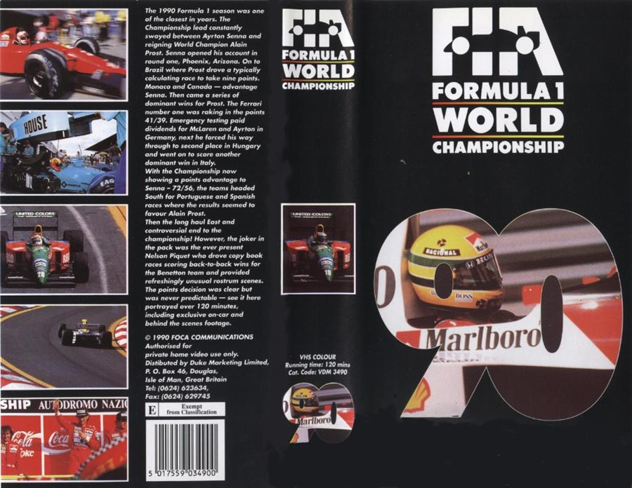 New Trans Am >> Formula 1 Review DVD/VCRs | The Motor Racing Programme ...