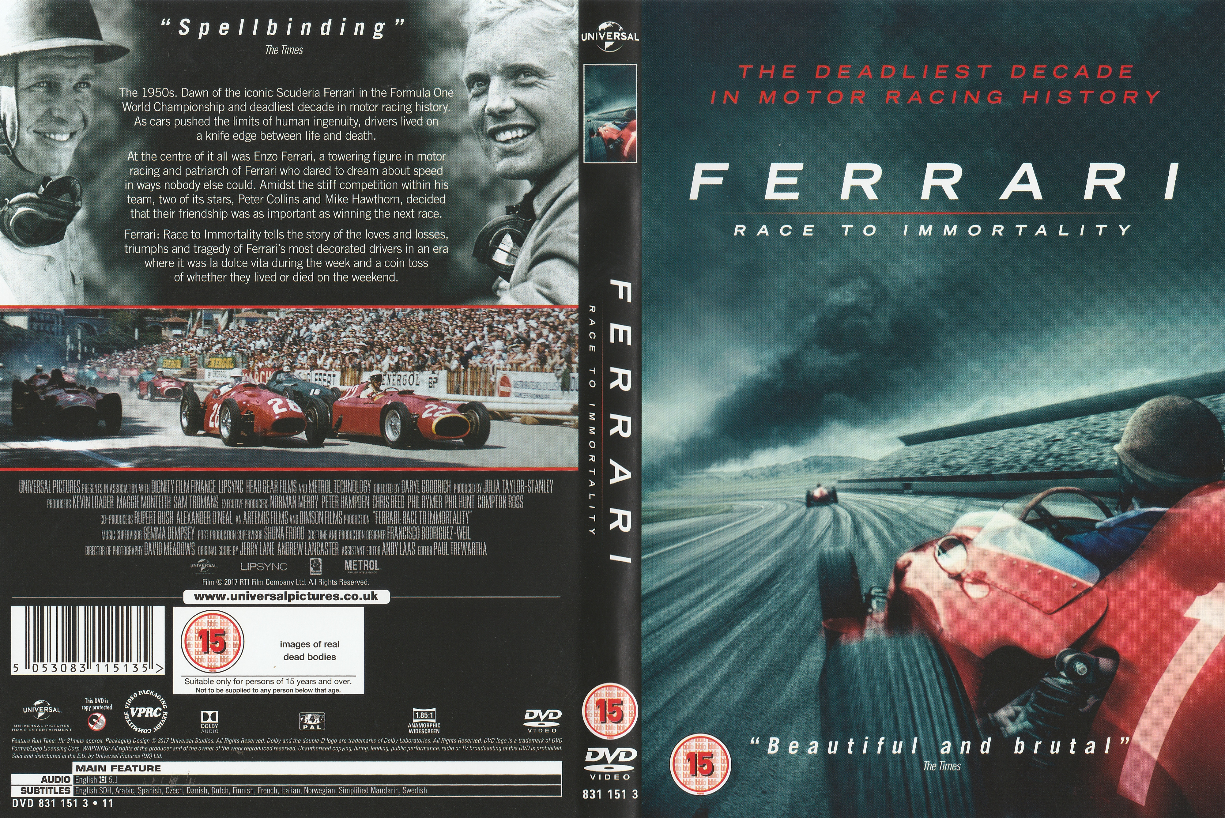 Team Dvd Vcrs The Motor Racing Programme Covers Project