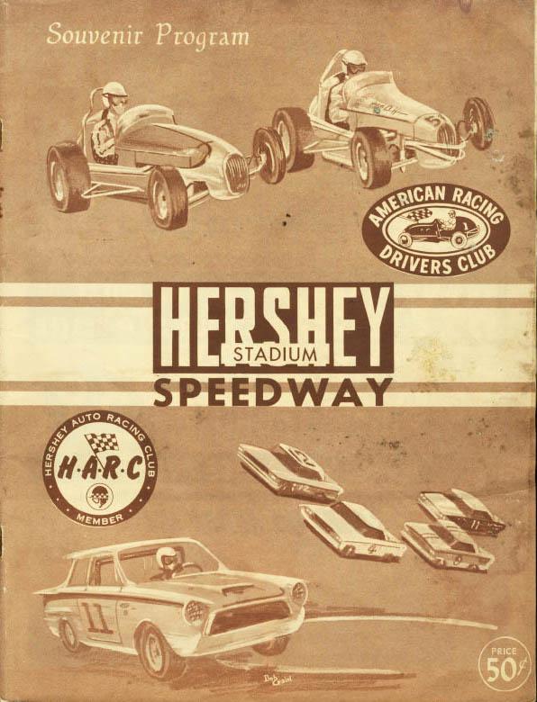 Hershey Stadium Speedway The Motor Racing Programme