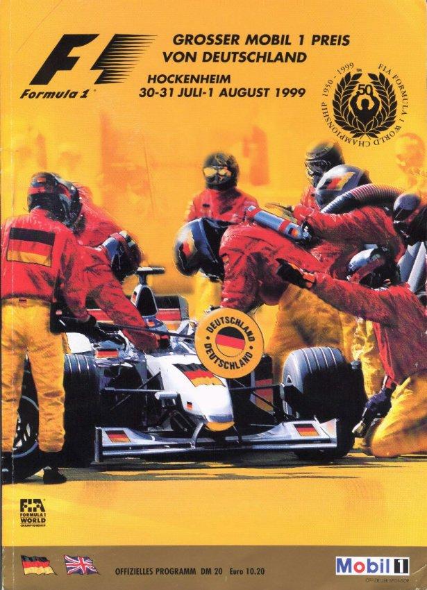 сезон 1999 формула 1