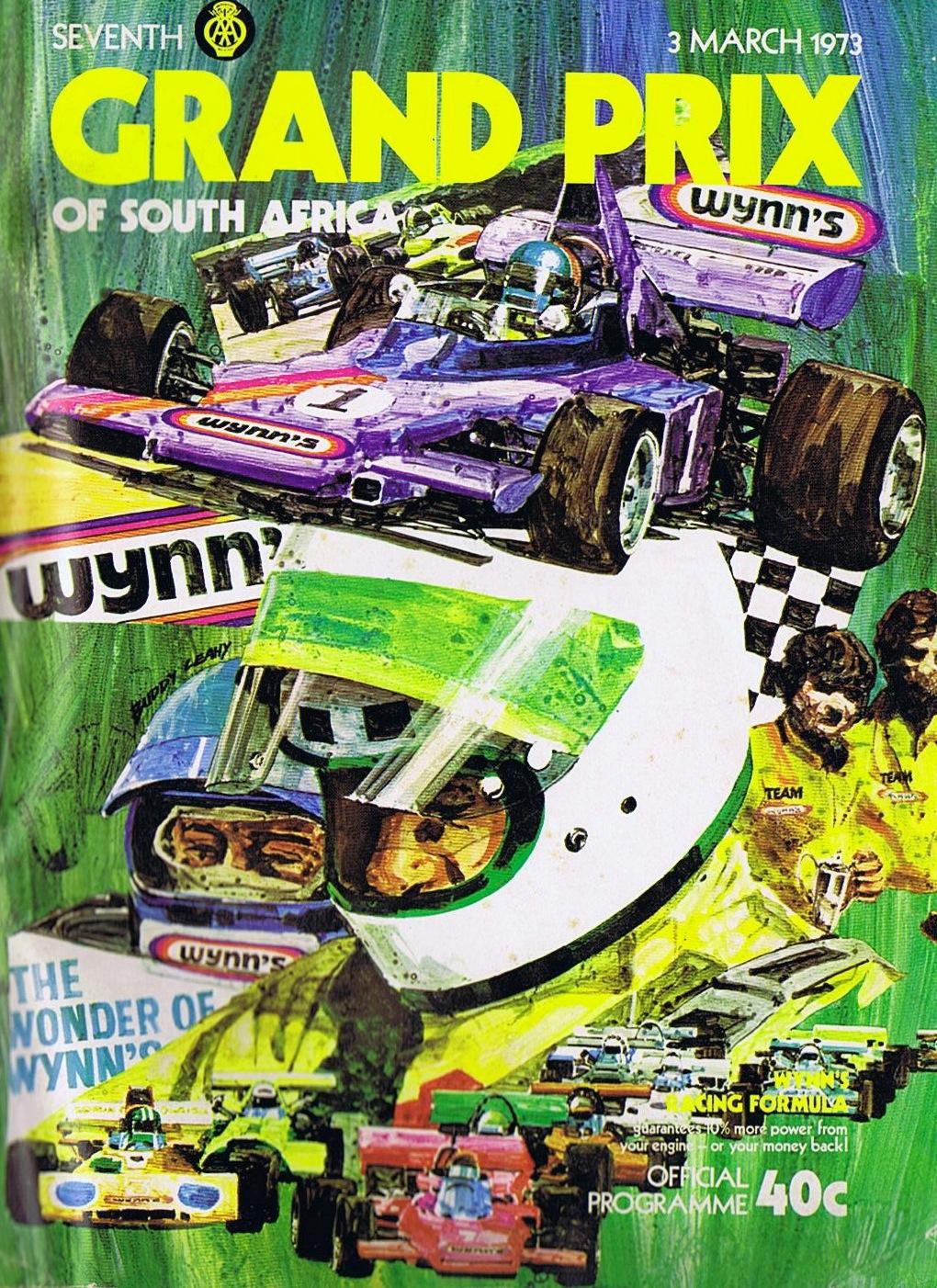 1973 South African Grand Prix Wikipedia