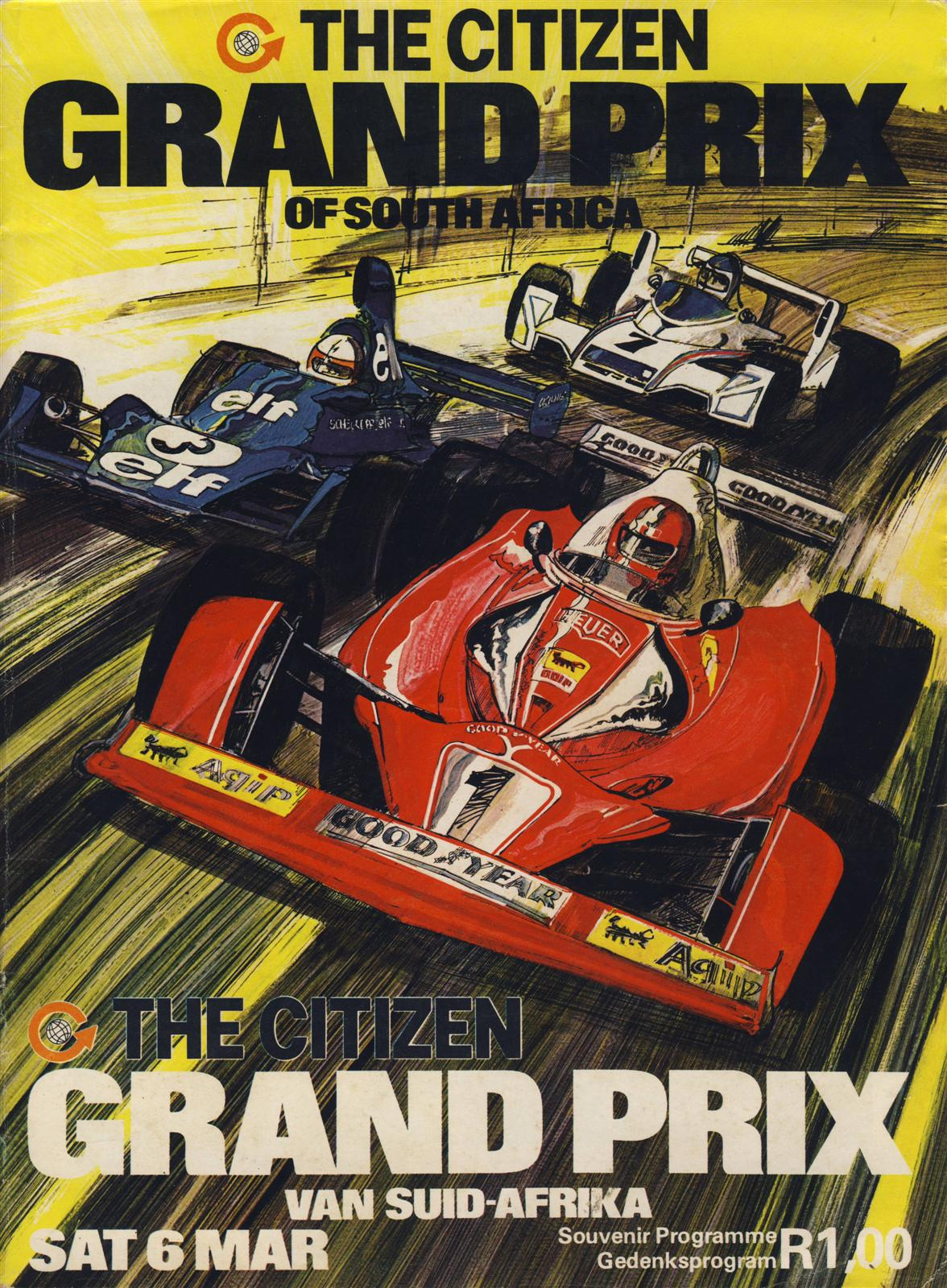 1976 formula 1 world championship programmes the motor racing programme covers project. Black Bedroom Furniture Sets. Home Design Ideas