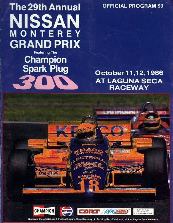 Mid Ohio Raceway >> 1986 CART Series Programmes | The Motor Racing Programme ...