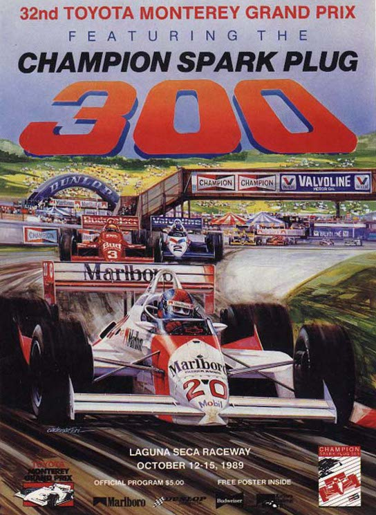 Mid Ohio Raceway >> 1989 CART Series Programmes | The Motor Racing Programme Covers Project