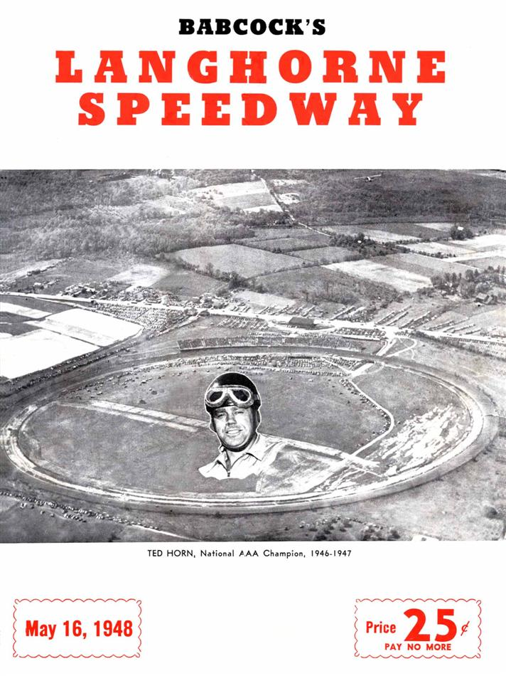 Langhorne Speedway | The Motor Racing Programme Covers Project