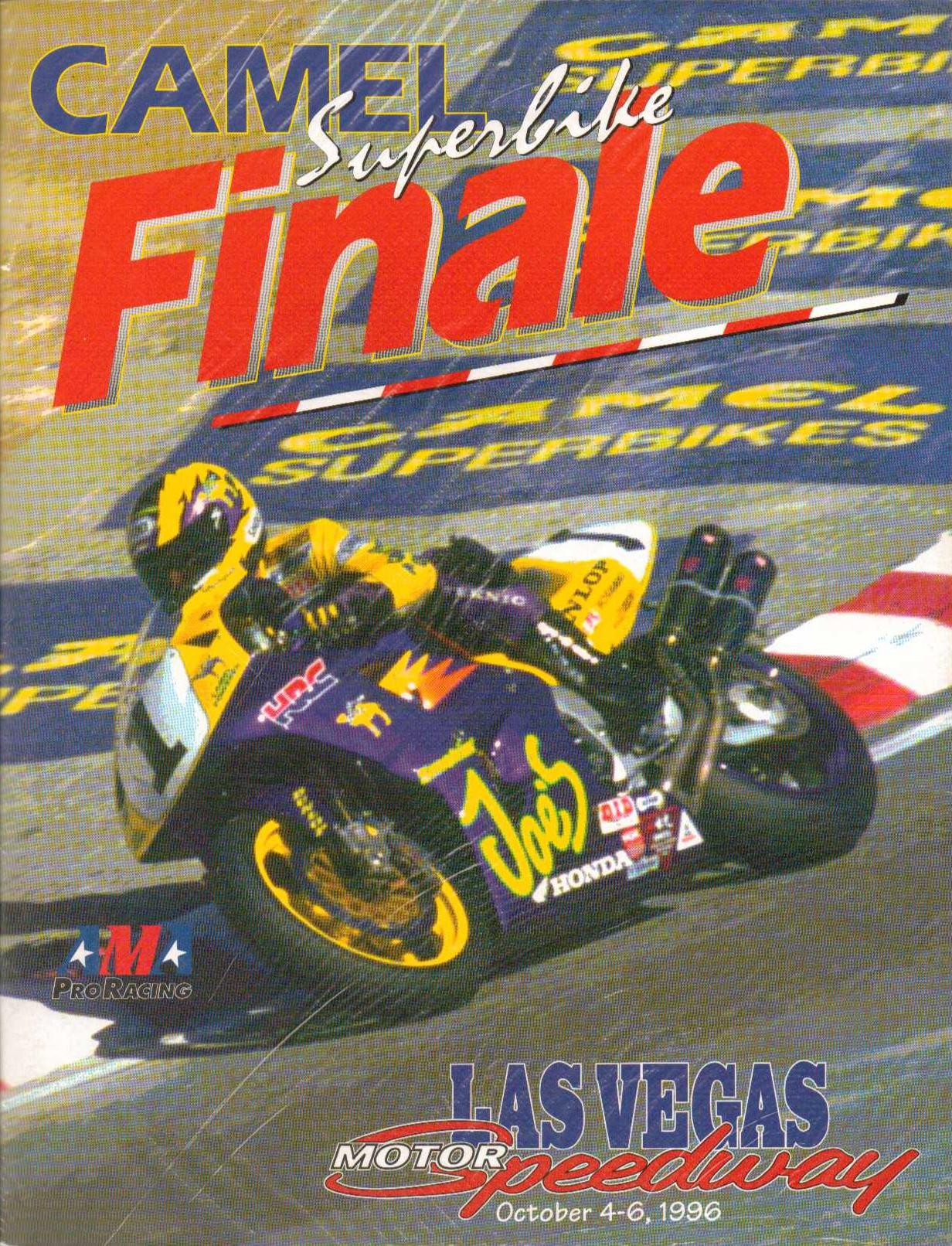 Las vegas motor speedway the motor racing programme for Las vegas motor speed way