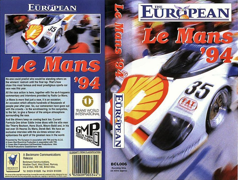 Le Mans Review DVD/VCRs | The Motor Racing Programme Covers Project