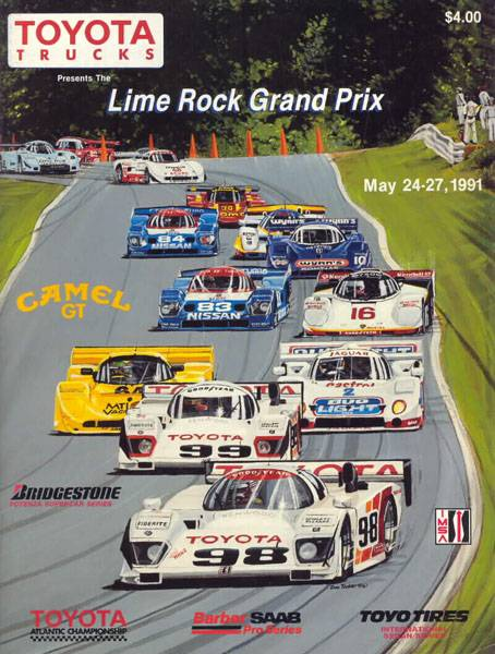 Mid Ohio Sportscar Course >> 1991 IMSA GT Championship Programmes | The Motor Racing ...