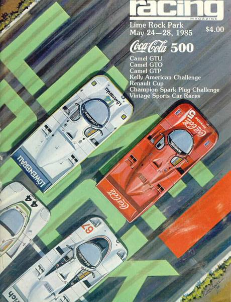 Mid-Ohio Sports Car Course >> 1985 IMSA GT Championship Programmes | The Motor Racing Programme Covers Project