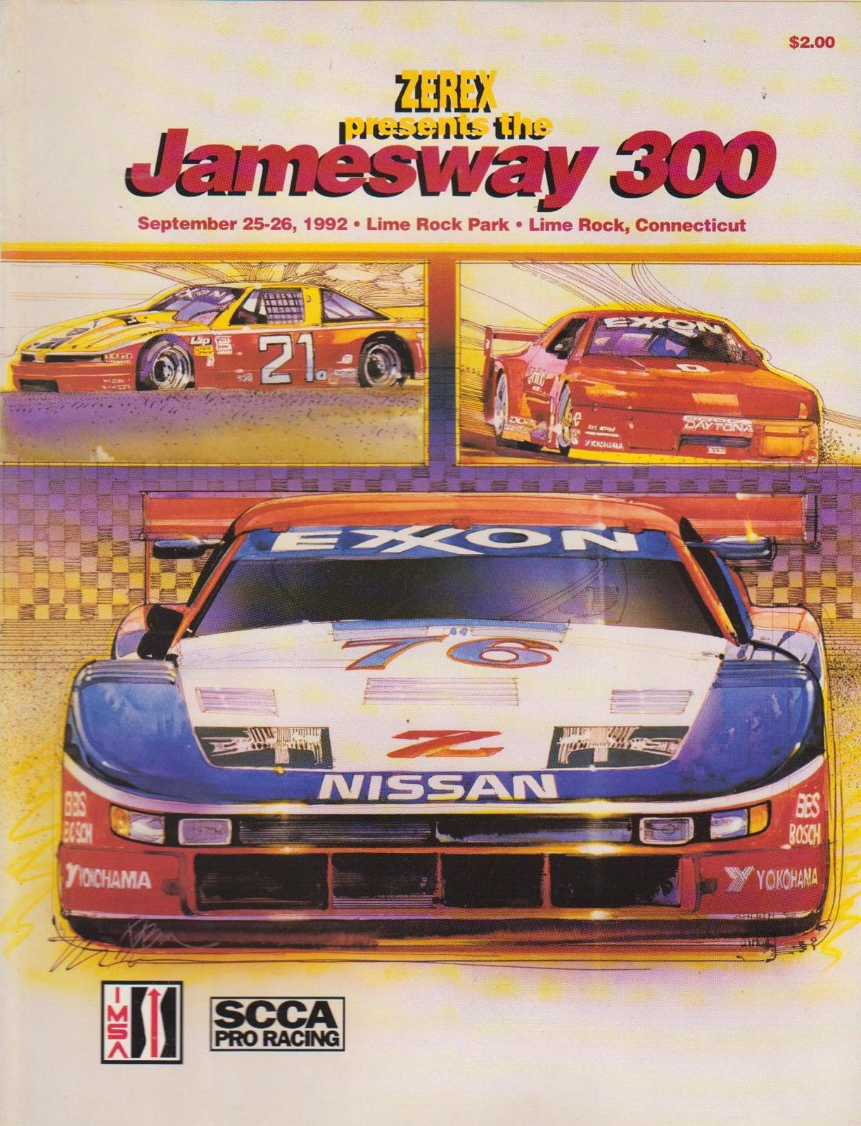 Mid Ohio Raceway >> 1992 IMSA GT Championship Programmes | The Motor Racing Programme Covers Project