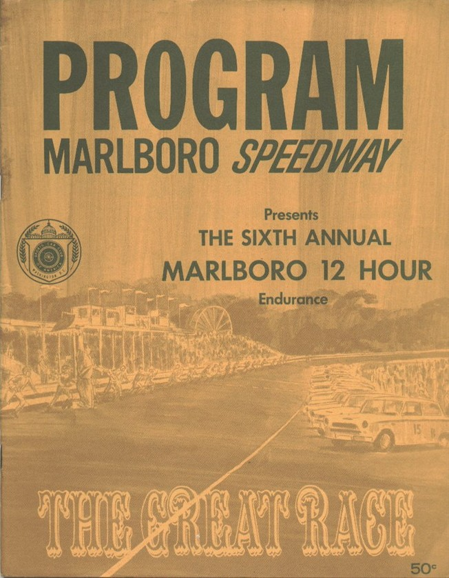 Marlboro Speedway The Motor Racing Programme Covers Project