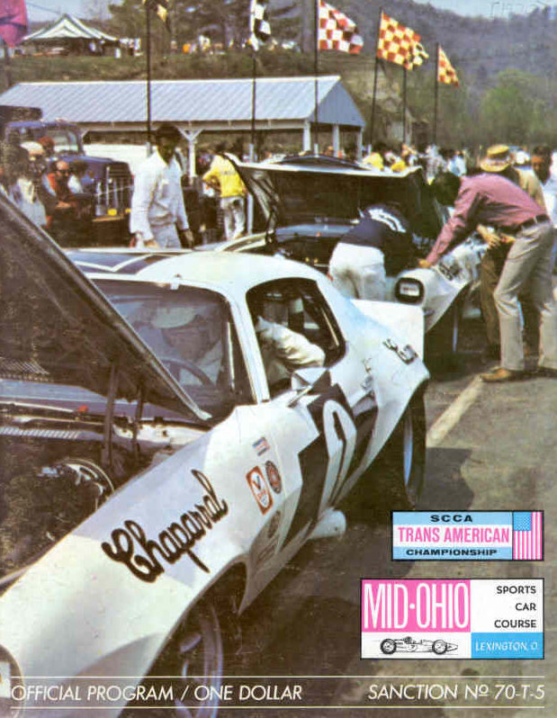 1970 Trans Am Series Programmes The Motor Racing