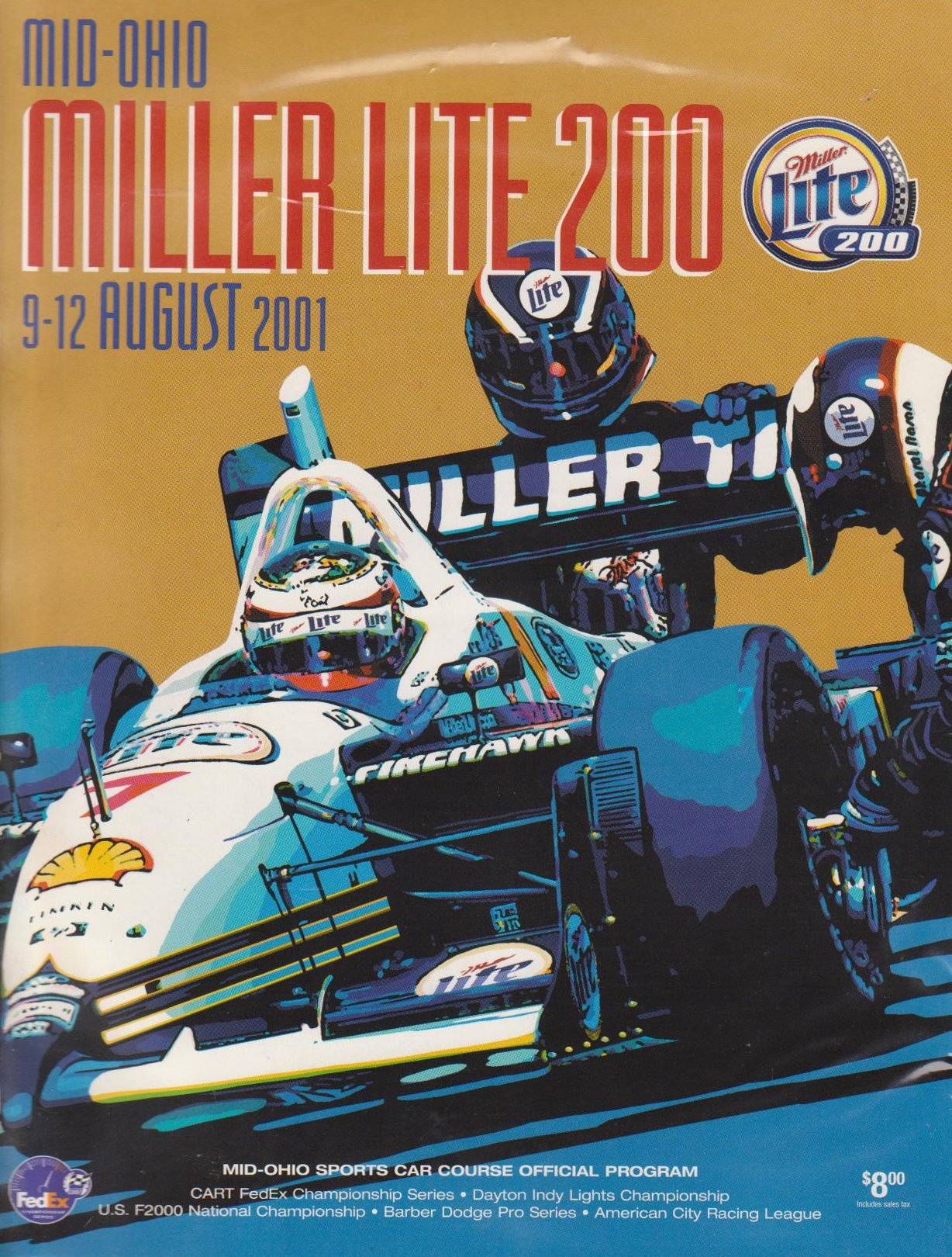 Mid Ohio Raceway >> 2001 CART Series Programmes | The Motor Racing Programme Covers Project