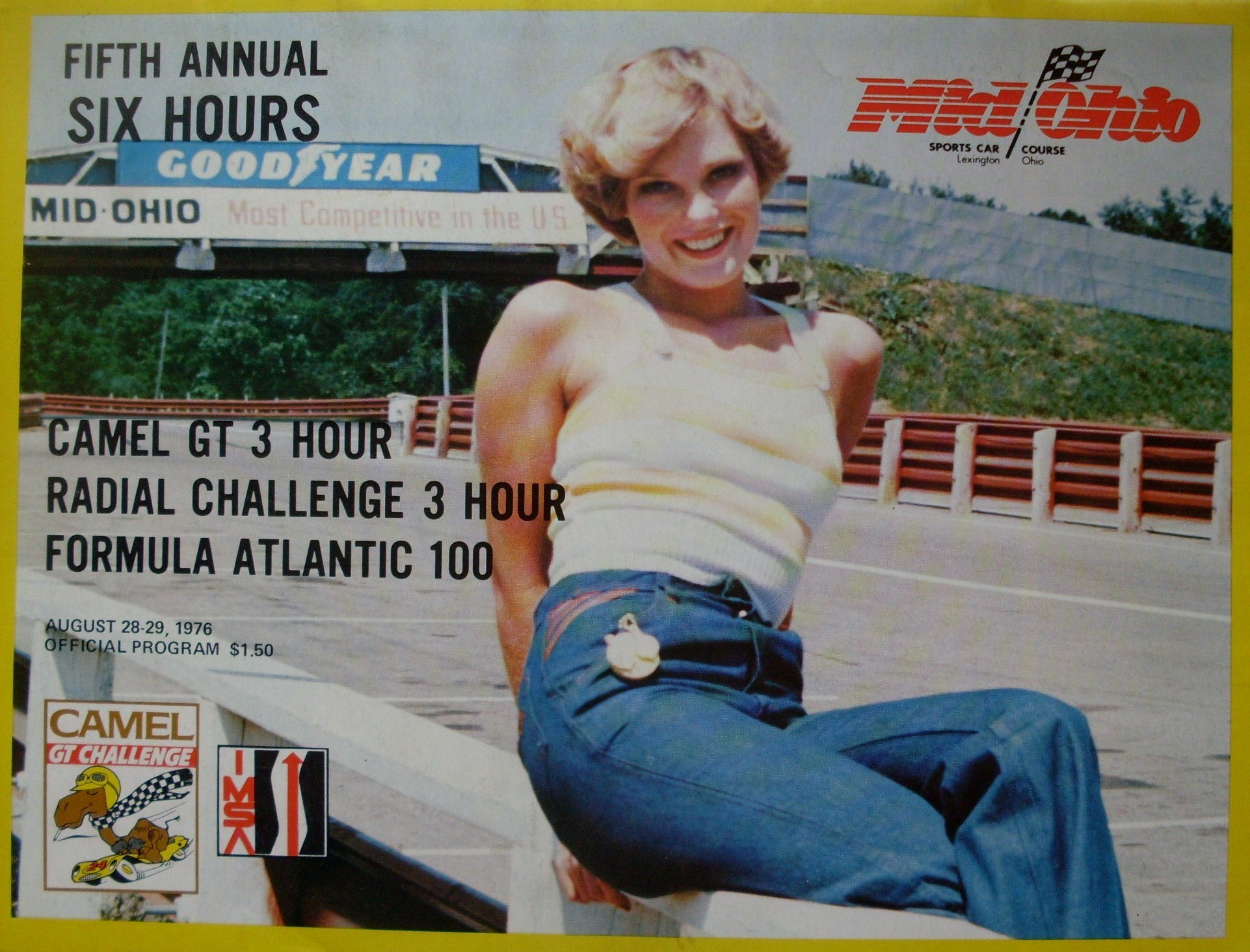 Mid Ohio Sportscar Course >> 1976 IMSA GT Championship Programmes | The Motor Racing Programme Covers Project