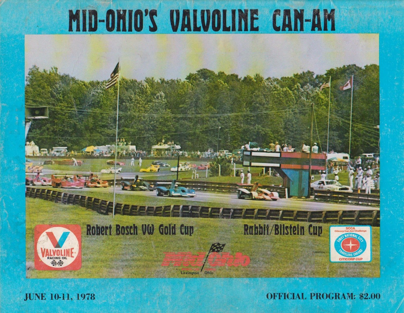 1978 can am programmes the motor racing programme covers project