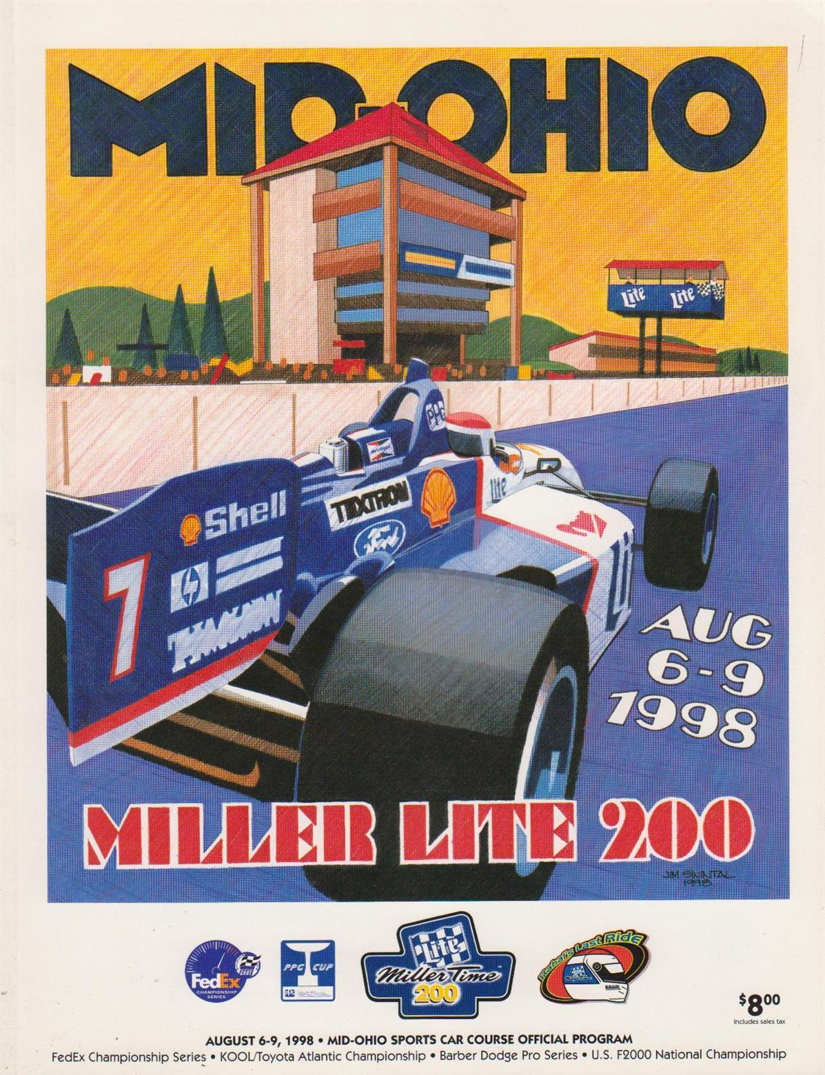 Mid Ohio Raceway >> 1998 CART Series Programmes | The Motor Racing Programme Covers Project