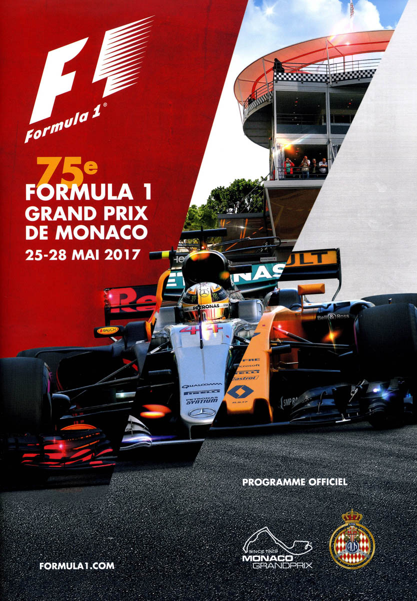 2017 formula 1 world championship programmes the motor racing programme covers project. Black Bedroom Furniture Sets. Home Design Ideas