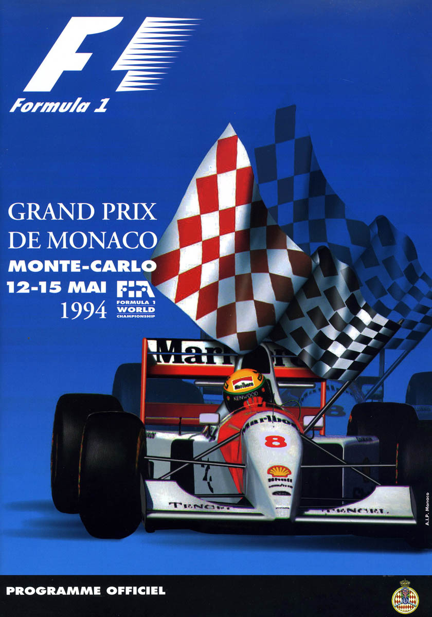1994 formula 1 world championship programmes the motor racing programme covers project. Black Bedroom Furniture Sets. Home Design Ideas