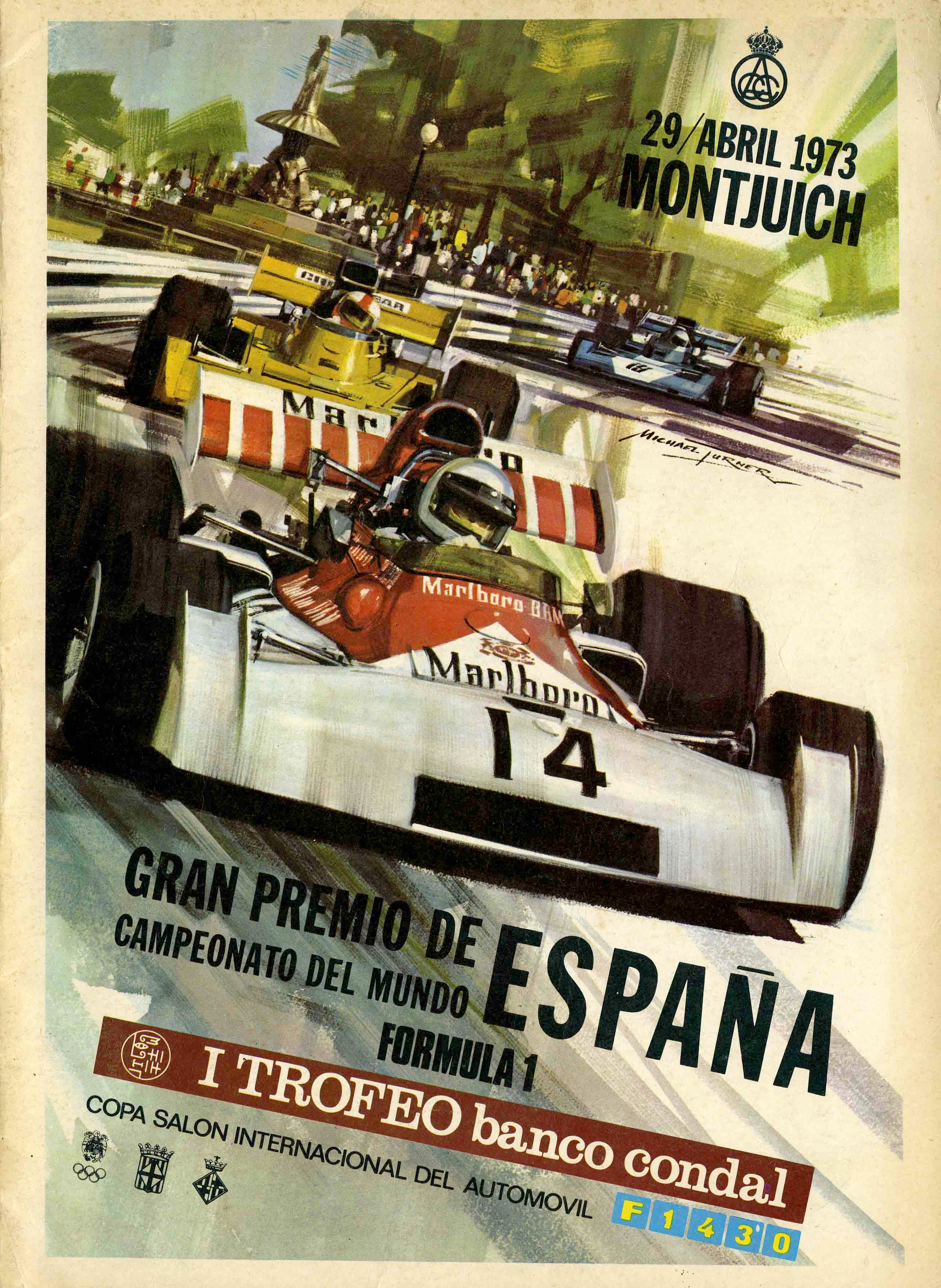 Can Am Car >> 1973 Formula 1 World Championship Programmes | The Motor Racing Programme Covers Project