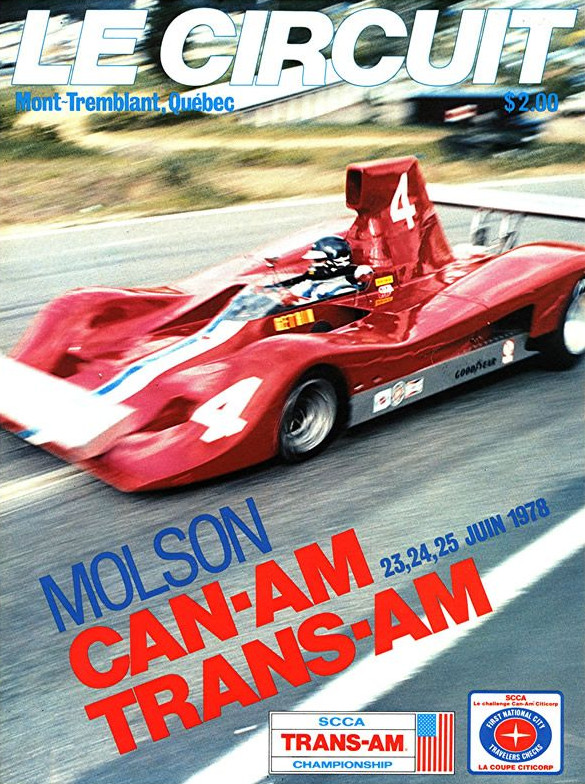 Mid Ohio Raceway >> 1978 Canadian-American Challenge Cup (Can-Am) Programmes | The Motor Racing Programme Covers Project