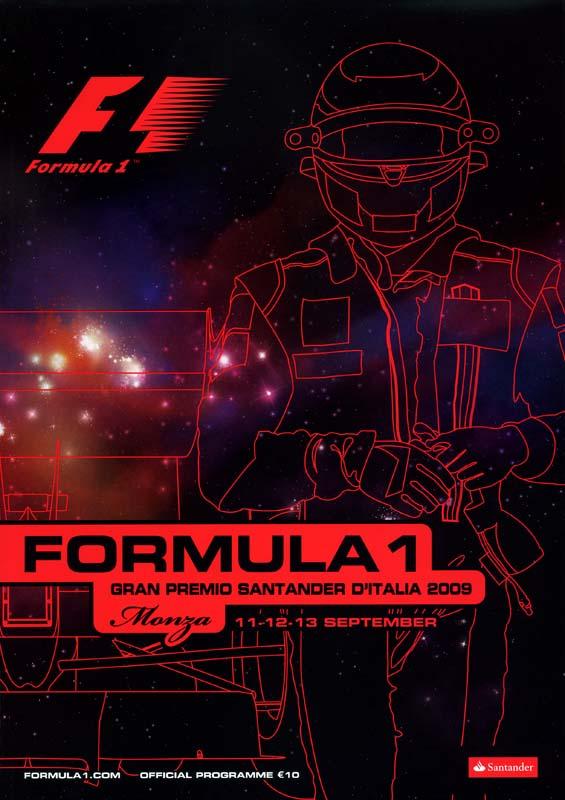 2009 formula 1 world championship programmes the motor racing programme covers project. Black Bedroom Furniture Sets. Home Design Ideas