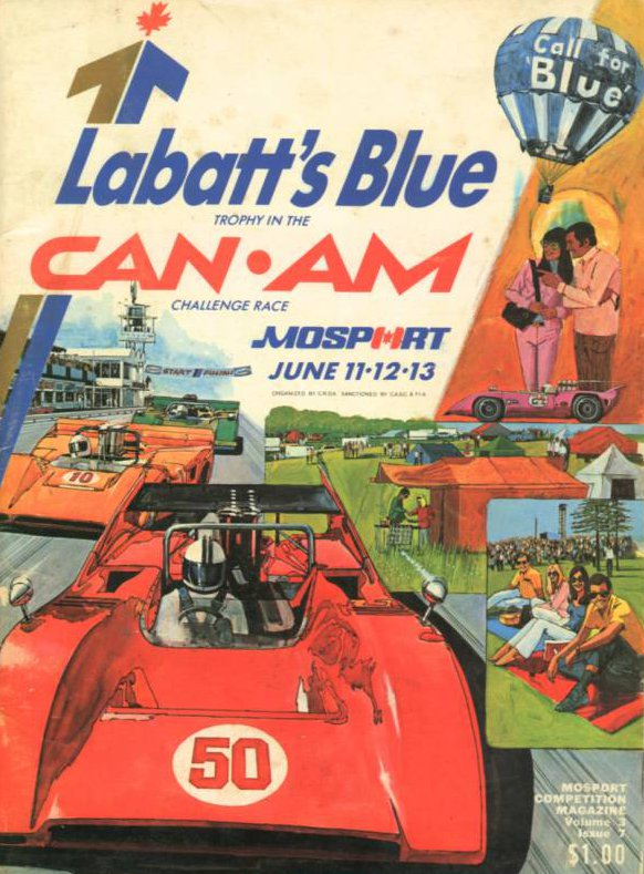 Mid Ohio Sportscar Course >> 1971 Canadian-American Challenge Cup (Can-Am) Programmes ...