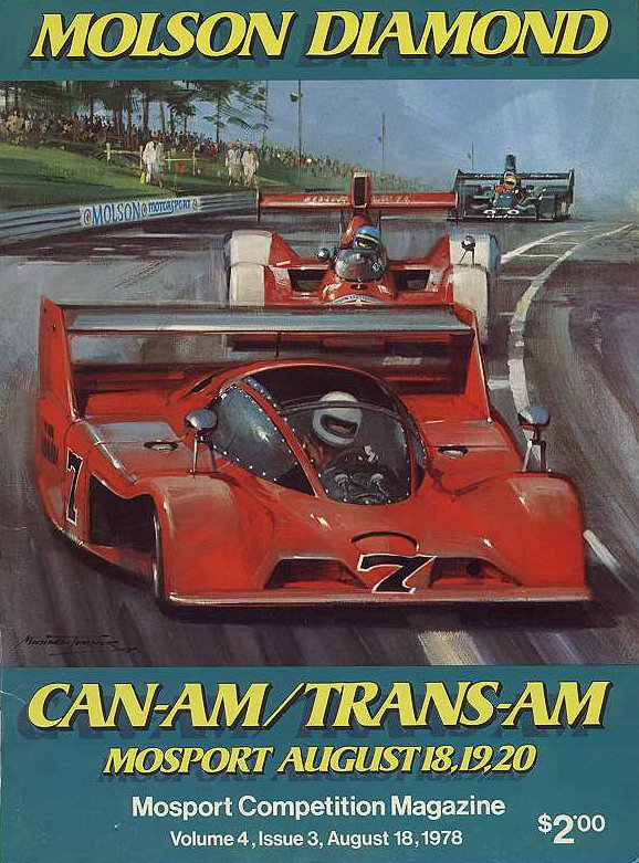Mid Ohio Sportscar Course >> 1978 Canadian-American Challenge Cup (Can-Am) Programmes ...