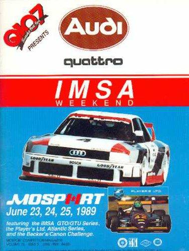 Mid Ohio Raceway >> 1989 IMSA GT Championship Programmes | The Motor Racing Programme Covers Project