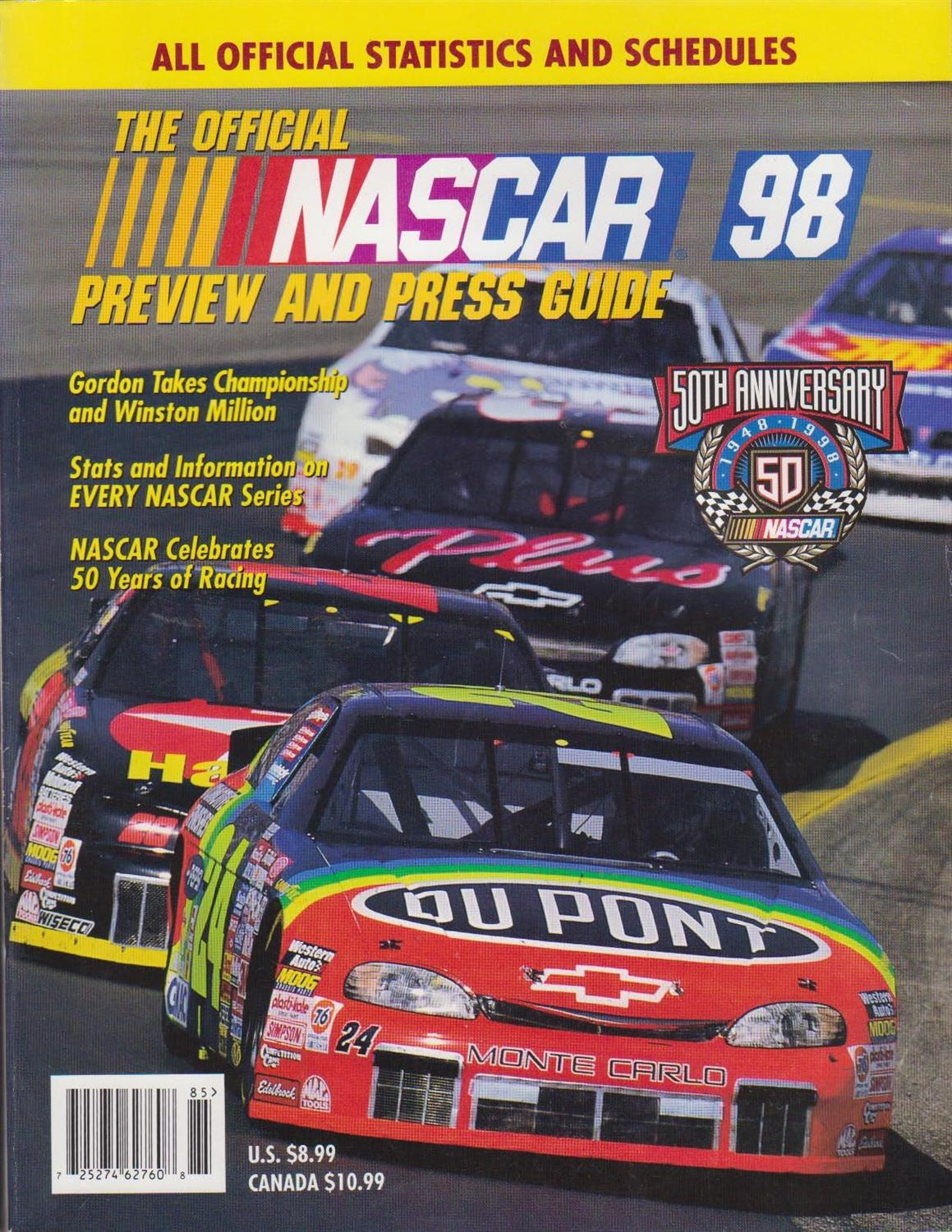New Trans Am >> NASCAR Annuals and Media Guides   The Motor Racing ...